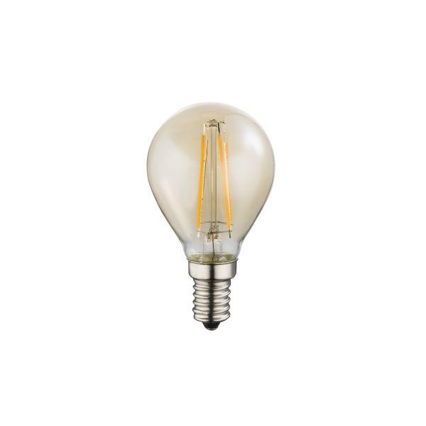 Lampadina LED vetro ambra, 1xE14 ILLU