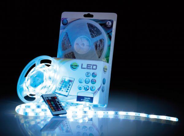 Striscia LED plastica, 150xRGBW LED