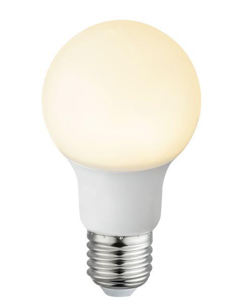 Lampadina LED plastica opale, 1xE27