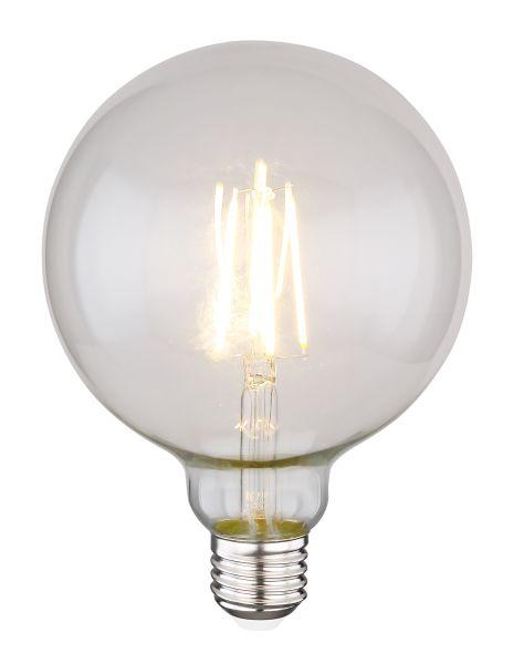 Lampadina LED vetro chiaro, 1xE27 LED