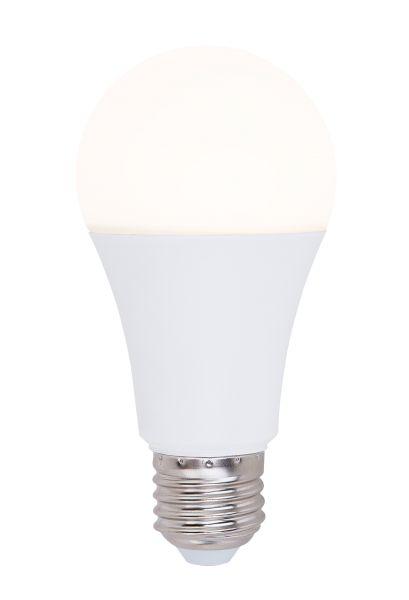 Lampadina LED plastica opale, 1xE27 LED