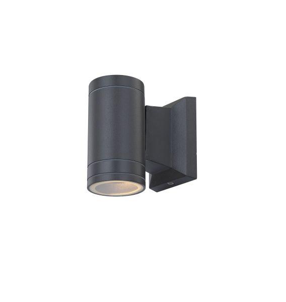 Lampada da esterno alluminio pressofuso grigio, 1x