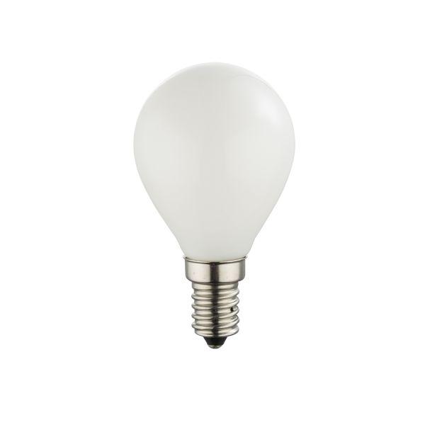Lampadina LED vetro opale, 1xE14 ILLU