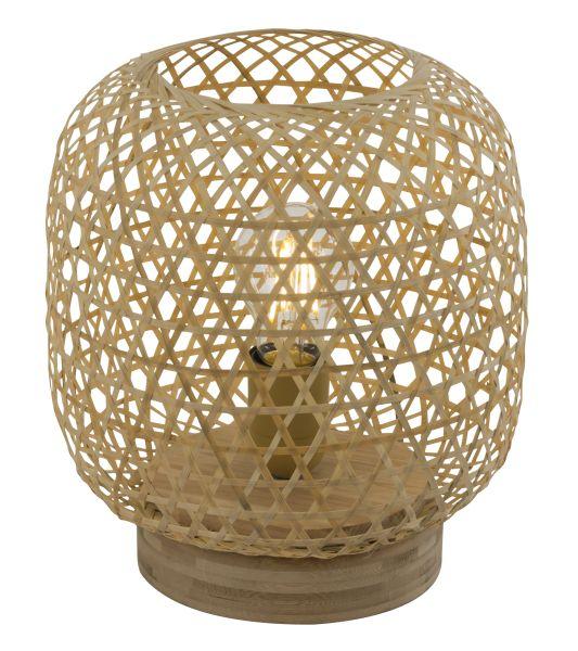 Lampada tavolo bambù naturale, 1xE27