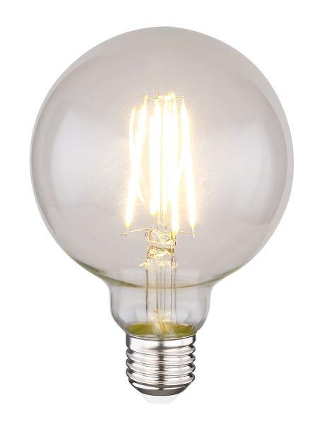 LED LEUCHTMITTEL GLAS KLAR, 1XE27 LED