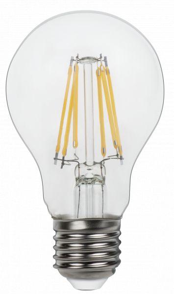 Lampadina LED vetro chiaro, 2xE27 LED