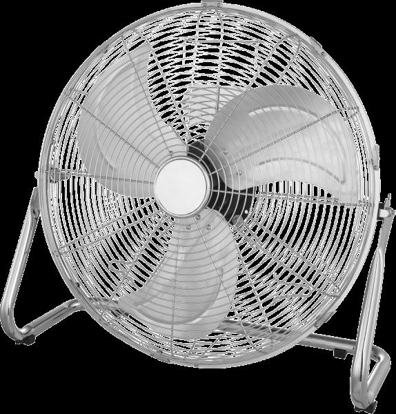 Ventilatore metallo cromo