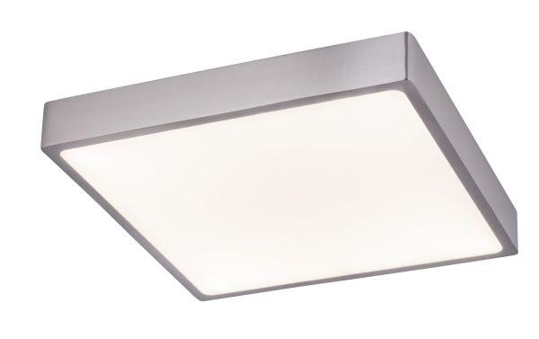 Plafoniera alluminio pressofuso nichel satinato, 1