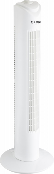 Ventilatore plastica bianco