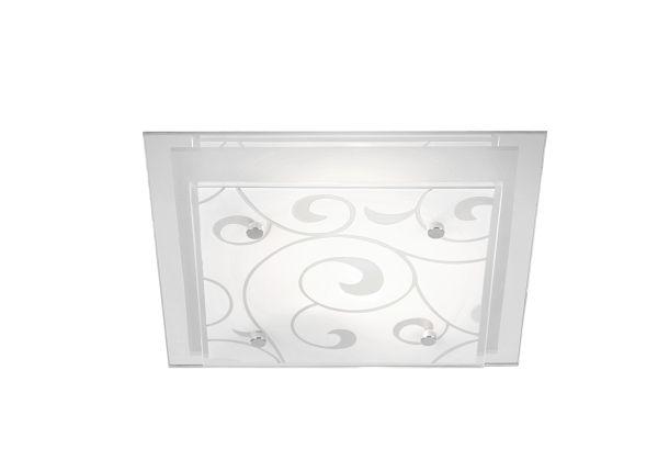 Plafoniera metallo bianco, 2xE27 ILLU