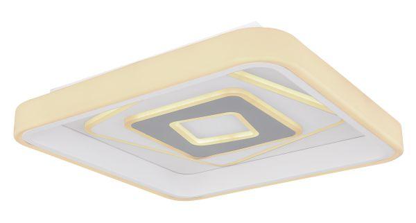 Plafoniera metallo bianco, 1xLED