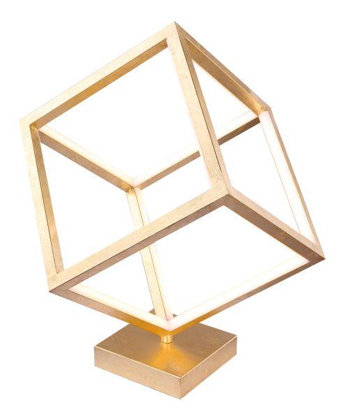 Lampada tavolo metallo blattgold, 1xLED