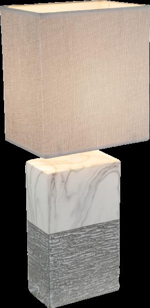 Lampada tavolo ceramica, 1xE27