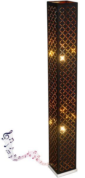 Piantana metallo nichel satinato, 2xE27