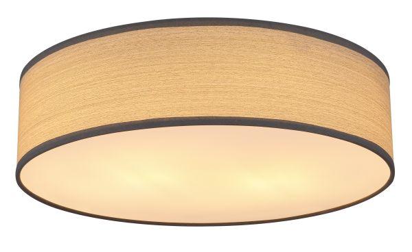 Plafoniera metallo bianco, 2xE27 LED