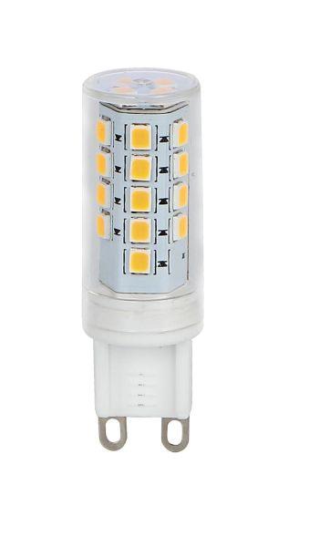 Lampadina LED plastica chiaro, 1xG9 LED