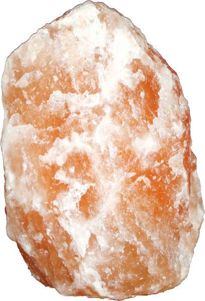 Lampada tavolo blocco di sale cristallizzato, 1xE1