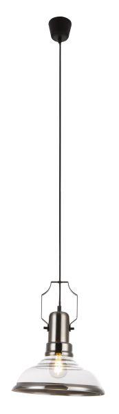Sospensione metallo color rame, 1xE27