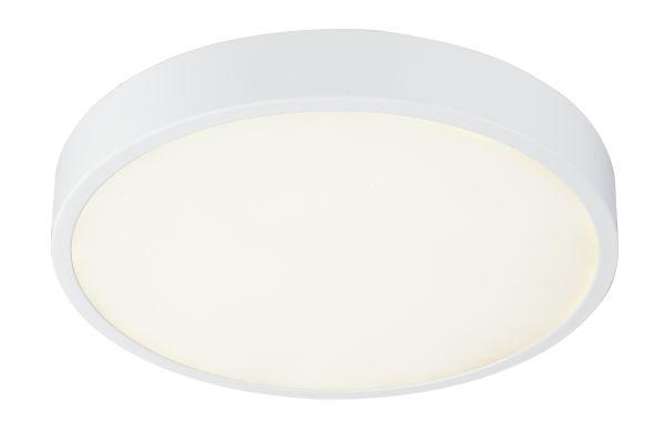 Plafoniera alluminio pressofuso bianco, 1xLED