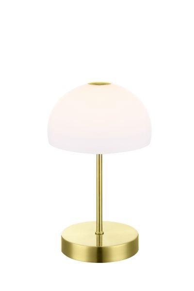 Lampada tavolo metallo ottonato, 1xLED