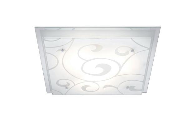 Plafoniera metallo bianco, 3xE27 ILLU